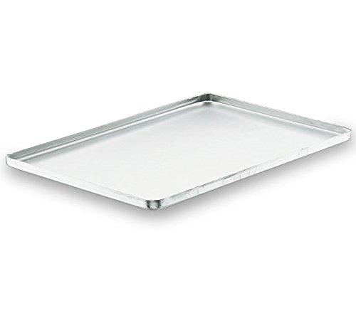 Bandeja de horno aluminio 60 x 40 cm 2 cm Borde Gastro venta Chapa ...