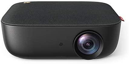 Nebula by Anker Prizm II 200 ANSI Lumens Full HD 1080p LED Multimedia Projector, 40 to 120 Inch Image Movie Projector, Dual Speakers, Keystoning, Video Projector, HDMI, & USB Connectivity