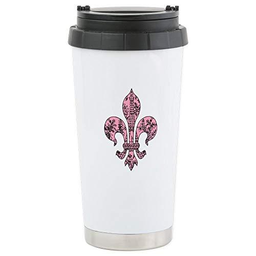 - CafePress Fleur De Lis Eiffel Tower 2 Stainless Steel Travel Stainless Steel Travel Mug, Insulated 16 oz. Coffee Tumbler