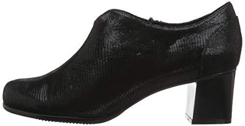 Black Boot Trotters Ankle Qutie Patent Women's Suede xCnIqzp