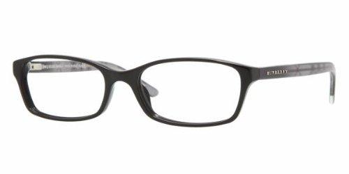 Burberry Women's BE2073.3164.53 Eyeglasses, Black, 53 - Glasses Burberry Frames Mens
