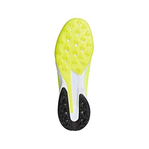 Men's Turf 18 adidas X white Shoe Solar Yellow black Tango Soccer qXX6wH7