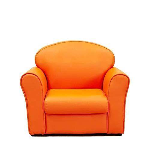 Amazon.com: Next-Daun, sofá para niños individual, de piel ...