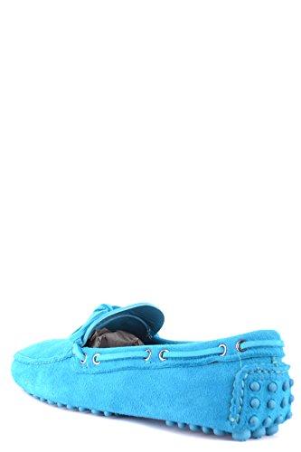 Car Shoe Mocassini Uomo MCBI063049O Camoscio Azzurro Explorar En Venta SBTH6b