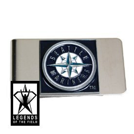 MLB Seattle Mariners Mets Steel Money Clip