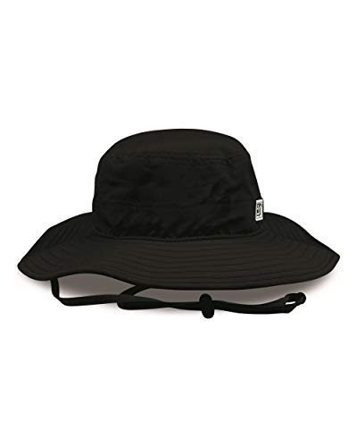 The Game GB400 Adult's Ultralight Booney Camping Hiking Round Brim Hat Cap (Black)