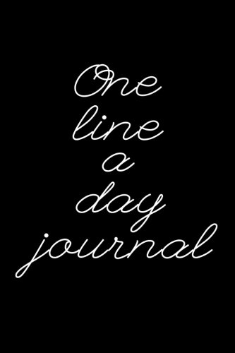 (One Line A Day Journal: 5 Years Of Memories, Blank Date No Month )