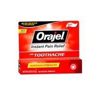 Orajel Orajel Maximum Strength Toothache Pain Relief Gel, 0.42 oz (Pack of 3)