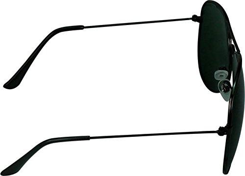 c32ee5605cbe YOLO Black Aviator Unisex Sunglasses (YL-001)  Amazon.in  Clothing    Accessories