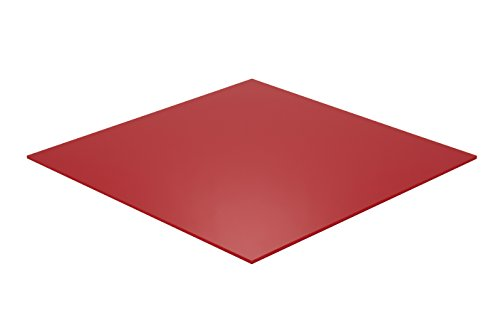 Falken Design RD2157-1-8/1224 Acrylic Red Sheet, Translucent 4%, 12
