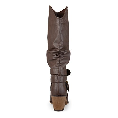 Dark Brown Boot Women's Western Early Co Brinley wY1BpnqxX