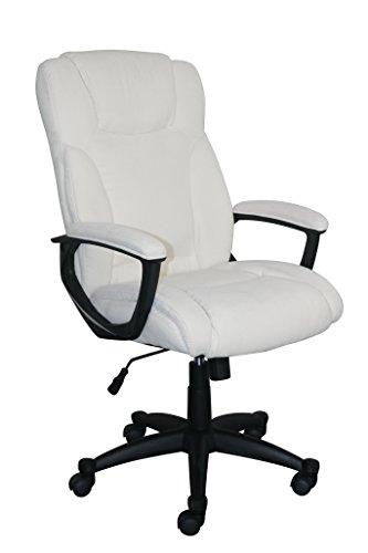 Serta Style Hannah II Office Chair, Microfiber, Ivory by Serta (Image #1)