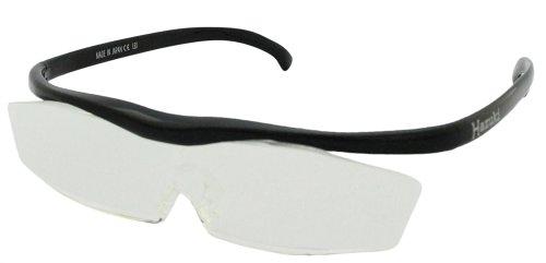 Hazuki Loupe Magnifier Clear Lenses Black by Hazuki