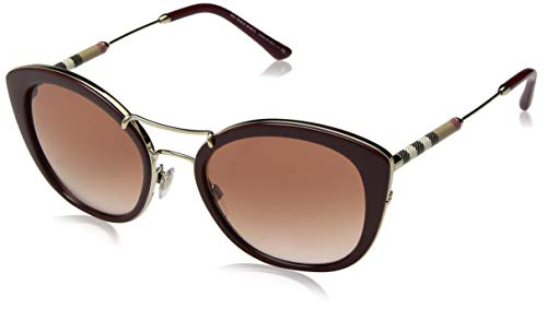 Burberry Women's Cat Eye Sunglasses - Burberry BE4251Q 340313 Bordeaux BE4251Q Round