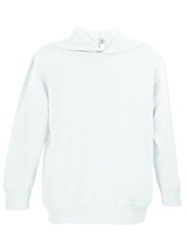 White Hooded Fleece - 5