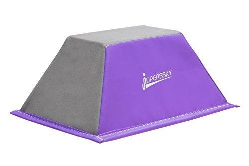 Juperbsky Stunt Training Stand, Cheerleading Balance Trainer (Purple)