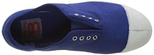Bensimon Tennis Elly Femme, Zapatillas de Deporte de lona Mujer Azul (Bleu Vif)