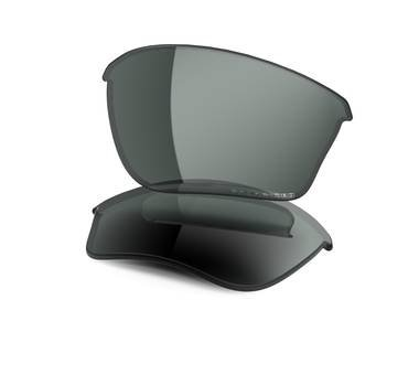 Oakley Half Jacket 2.0 XL Replacement Lens Clear/Black, One Size by Oakley