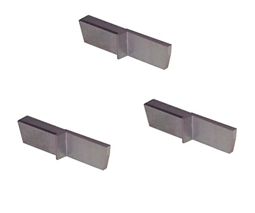 Parting Insert - THINBIT 3 Pack LGPT062HSR7R 'L' Series, Uncoated High Speed Steel, Parting Insert for Plastics, Composites, Abusive Cutting Conditions and Low RPM Cutting