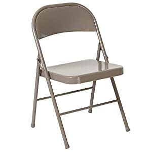 Well-Being-Matters 31Mn5cZs2HL._SS300_ Flash Furniture HERCULES Series Double Braced Gray Metal Folding Chair