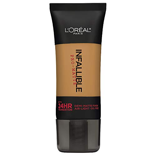 L'Oréal Paris Infallible Pro-Matte Liquid Longwear Foundation, Classic Tan, 1 fl. oz. (L Oreal Infallible Pro Matte Foundation Classic Tan)