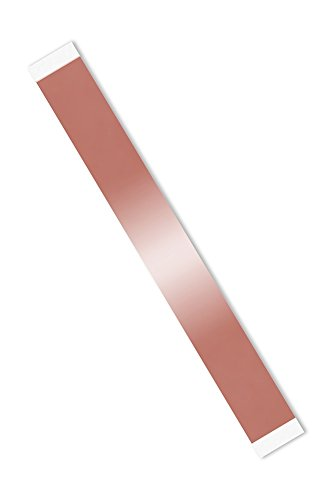 """UPC 888519240632, 3M 1182 1"""" x 8""""-100 Double-sided Foil Tape with Conductive Adhesive- length: 8"""", width: 1"""" (Pack of 100)"""