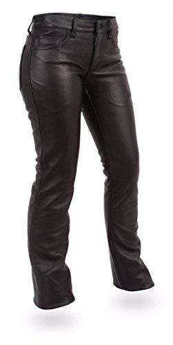 - First Manufacturing Women's 5-Pocket Jeans (Black, Size 6)