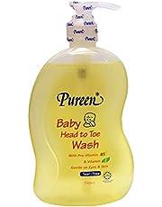 Pureen Baby Head to Toe Wash, 750 milliliters