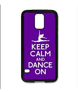 Samsung Galaxy S5 SV Black pc Silicone Case - Keep Calm and Drink On