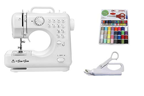 Michley LSS-505+C Sewing Machine, Multicolor (Michley Lil Sew & Sew Mini Sewing Machine)