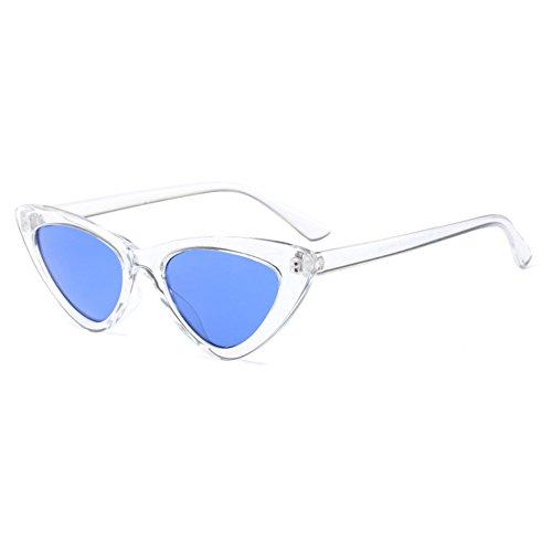 Eyewear redondo de Mujeres Glasses C7 UV400 Gafas hibote C6 Retro sol Hombres ABArq