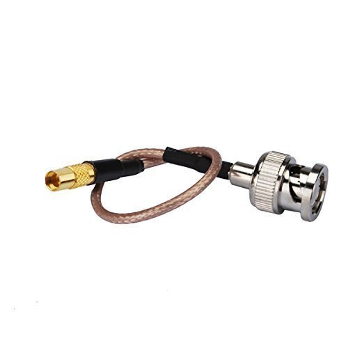 onnector BNC Plug to Mmcx Jack Straight Coaxial Cable Extension Rg316 15cm for Wireless Antenna Ships From USA (Mmcx Plug)