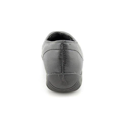 Easy Street Purpose Schmal Rund Synthetik Slipper Black Patent Croco