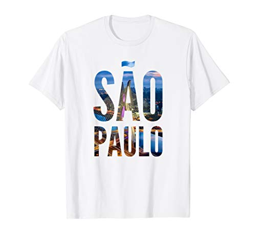 Sao Paulo Brazil | Vacation & Travel Pride T-Shirt
