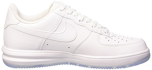 NIKE 654256 002 - Zapatillas de correr de material sintético hombre blanco - Weiß (WHITE/WHITE WHITE)