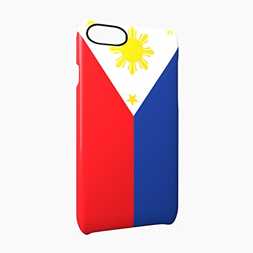 Flag of Philippines Glossy Hard Snap-On Protective iPhone 7 Plus + Case Cover