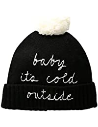 eb2841885b1 Kate Spade Baby Its Cold Outside Pom Beanie
