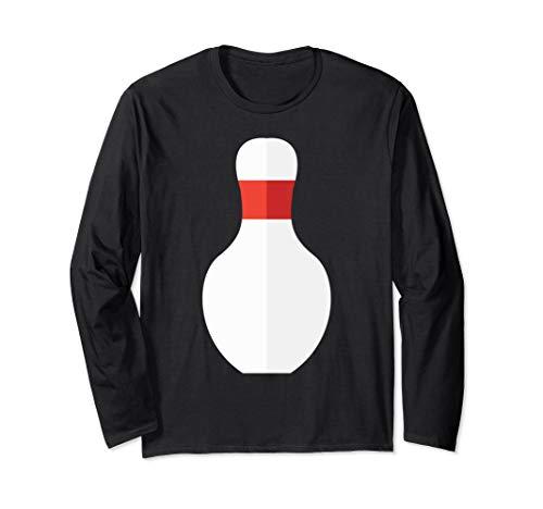 Bowling Pin Costume Bowler Long Sleeve -