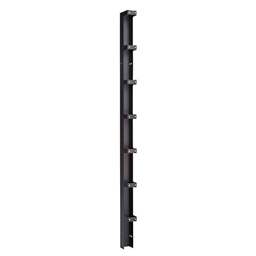 Single-sided Vertical Cable Manager 6.00'' Width USA Made