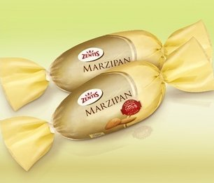 Zentis Original Marzipan, Chocolate Covered Egg of 200gr (7.05 Oz)