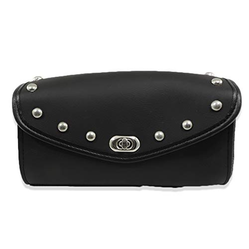 (Studded Motorcycle Windshield Tool Gear Bag)