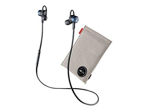Plantronics Moisture-Resistant Earphones - Wireless - Bluetooth with Charging Case Cobalt Blue (204352-70) ()