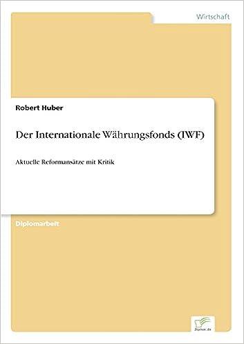e-book Der Internationale Währungsfonds (German Edition)