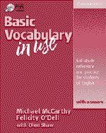 Basic Vocabulary in Use with Answers Student's Book with Ans w/ Audio CD