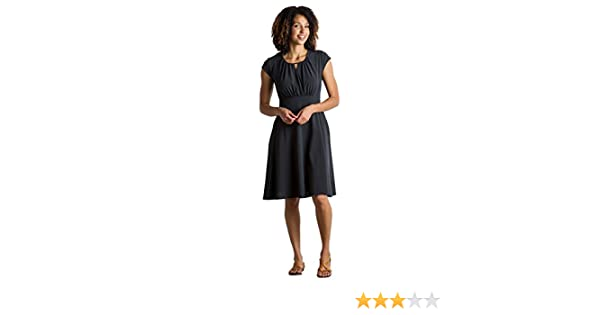 76fbf52ac1 Amazon.com: ExOfficio Women's Kizmet Cross-Front Short-Sleeve Dress: Sports  & Outdoors