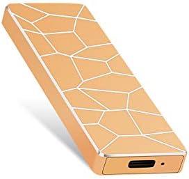 External Hard Drive 1TB 2TB,USB3.0 Portable Hard Drive External for PC, Laptop and Mac (2TB-D Golden)