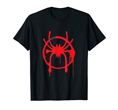 Marvel Spider-Man Into the Spider-Verse Red Icon T-Shirt ()