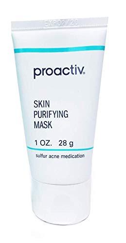 (pro active Skin Purifying Mask, 3 Ounce (90 Day) 2pack+luxury 'donita' sponges extra bonus (3pcs))