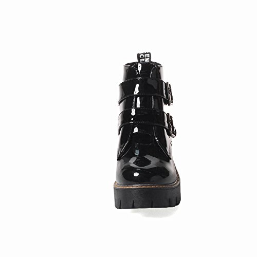 Boots Foot Women's Black Charm Ankle Chunky IqxBP