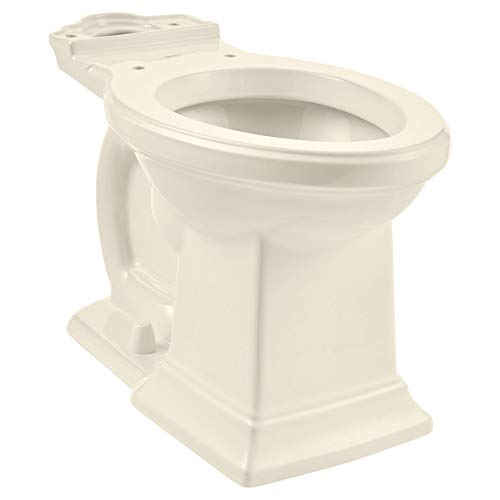 - American Standard 3271101.222 Town Square S Right Height Elongated Toilet Bowl Only in Linen,